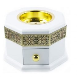 bakhoor burner white