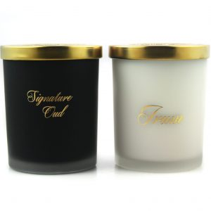 irum and signature oud candle
