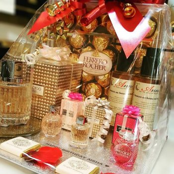 jimmy choo hamper