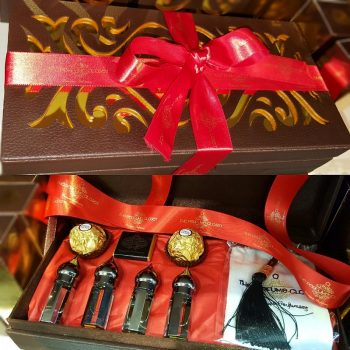 perfume oil gift hamper