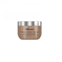 Millionnaire whipped cleansing butter