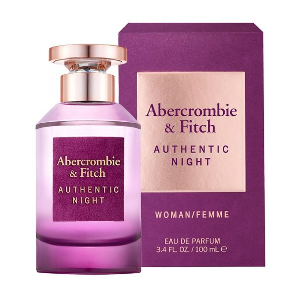 abercrombie & fitch 100ml edp for her authentic night