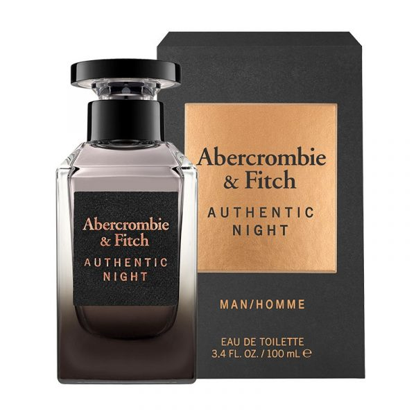 abercrombie & fitch 100ml edt for him authentic night