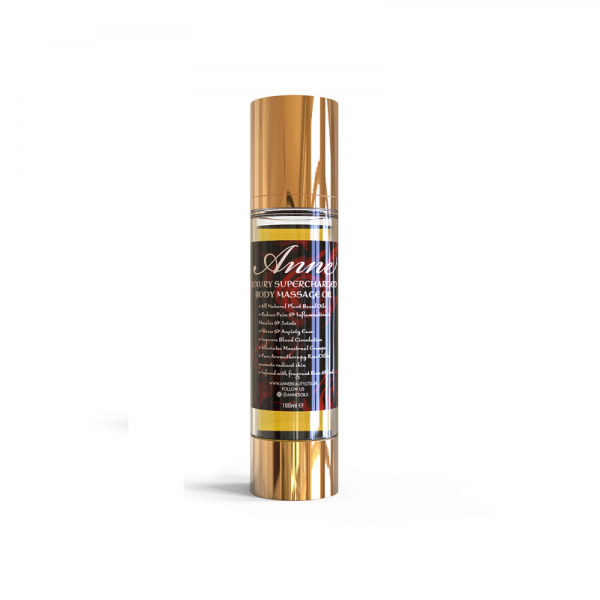 annes supercharged luxury massage oil