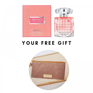 your free gift jimmy choo pouch